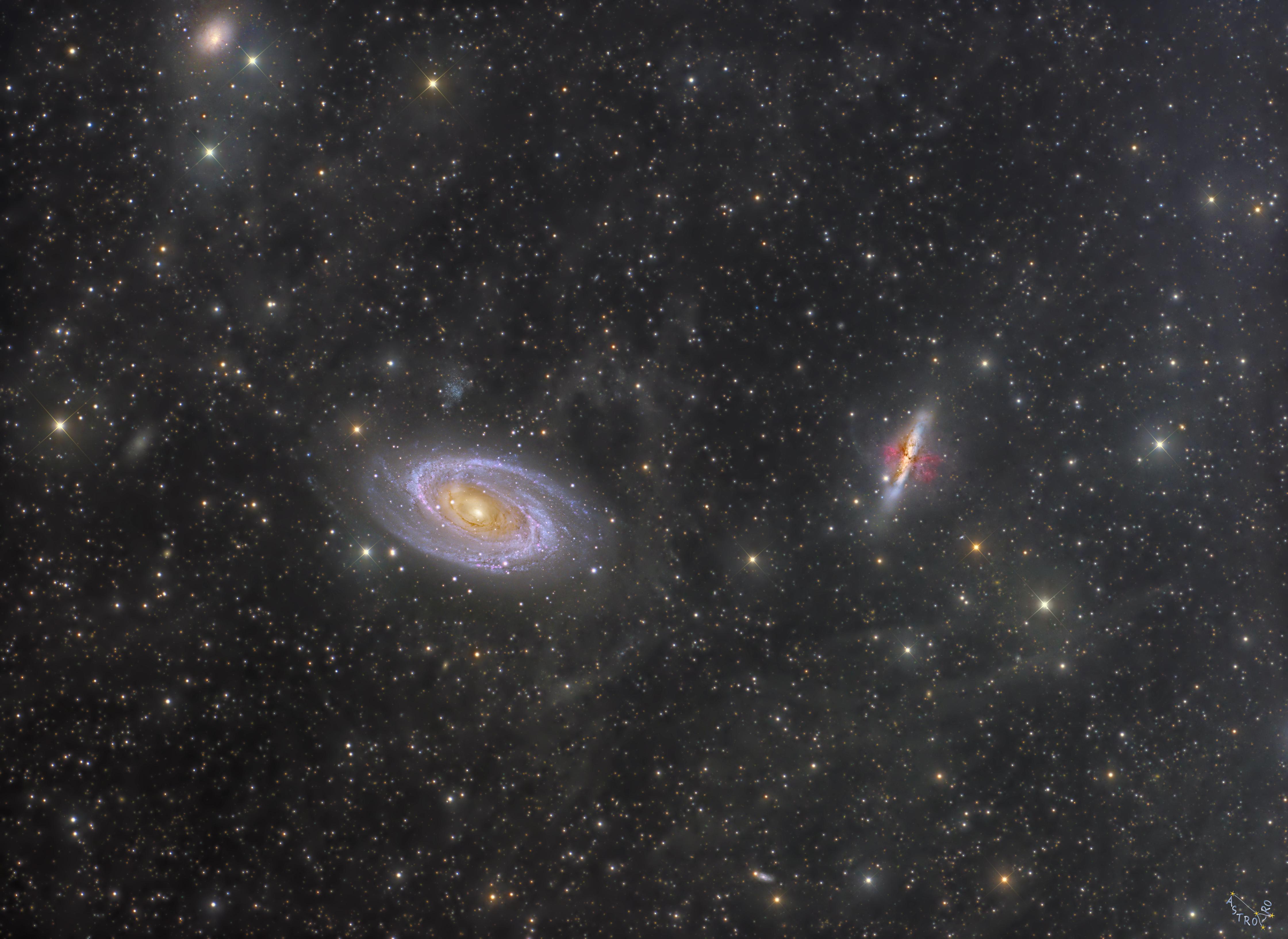 M81 M82 IFN Full Frame
