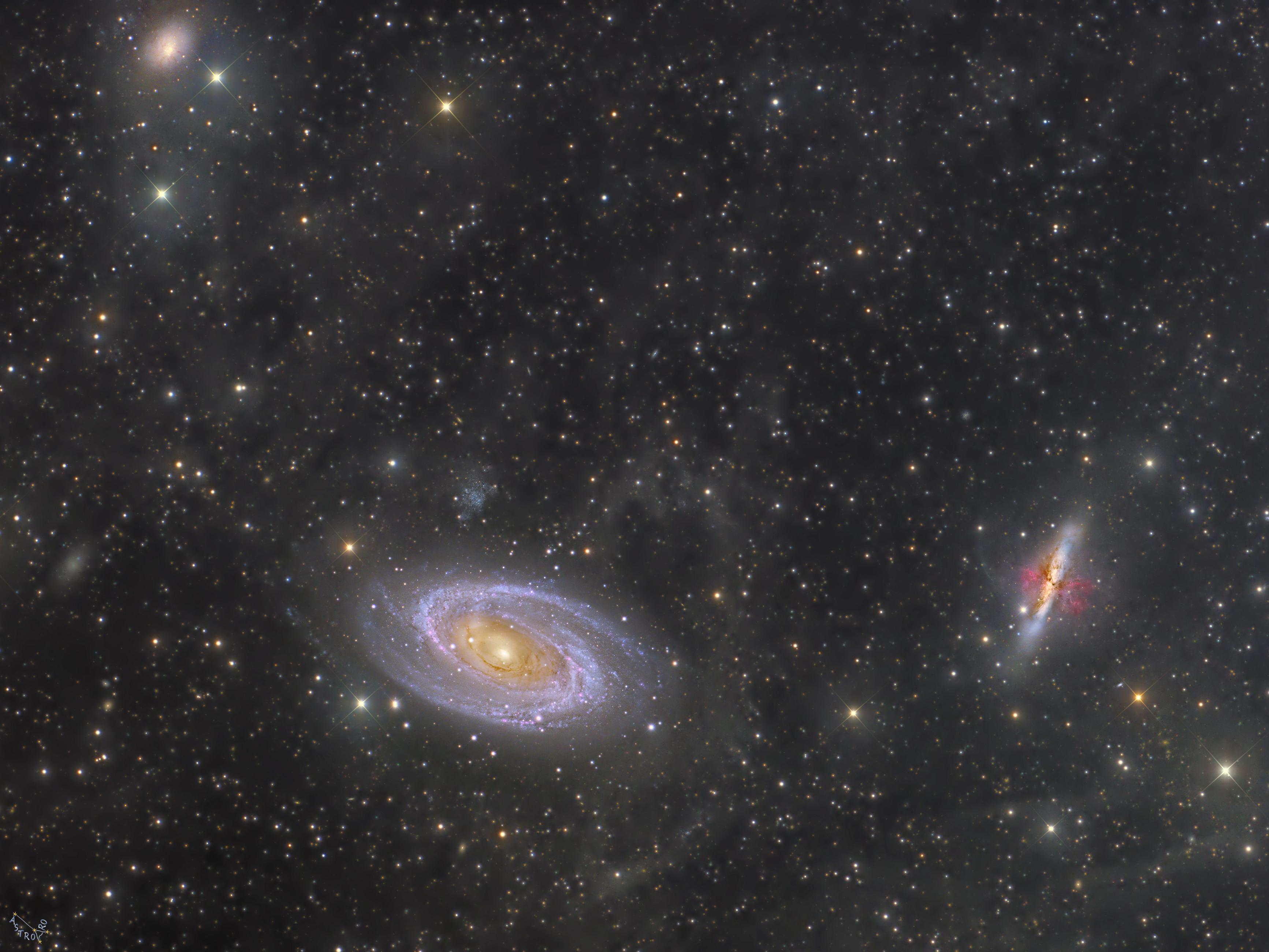 M 81 M82 IFN Crop