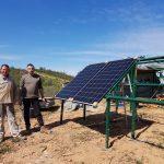 Pose panneaux solaires