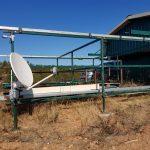 L'antenne satellite