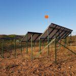 Cloture Panneaux Solaires